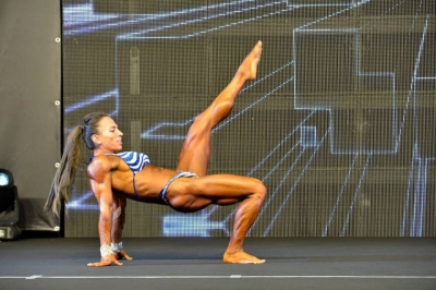 Carmela Rotunno viestana 5^ classificata nella top ten internazionale del body building
